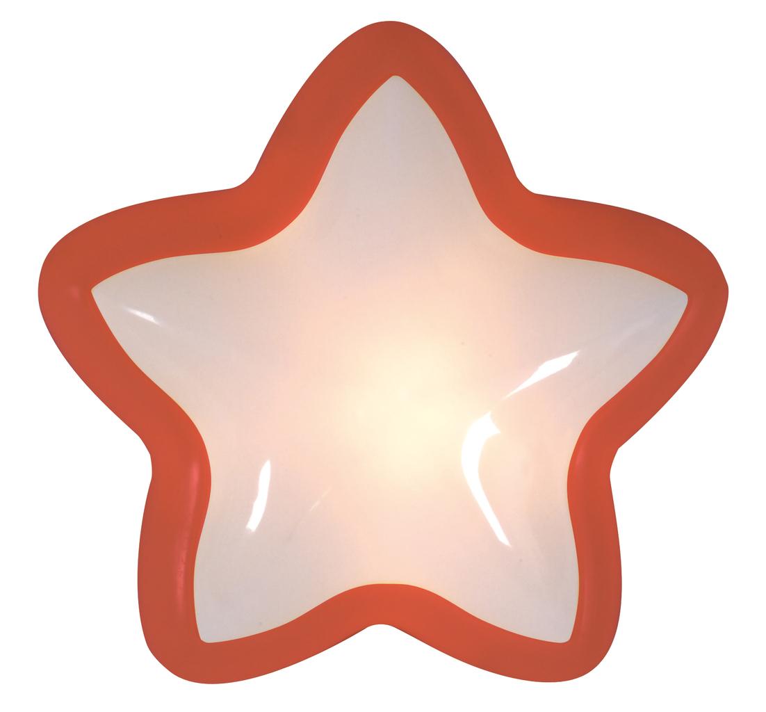 Näve Kinderleuchte Lampe Touch, Rot/weiß, Kunststoff, 533021