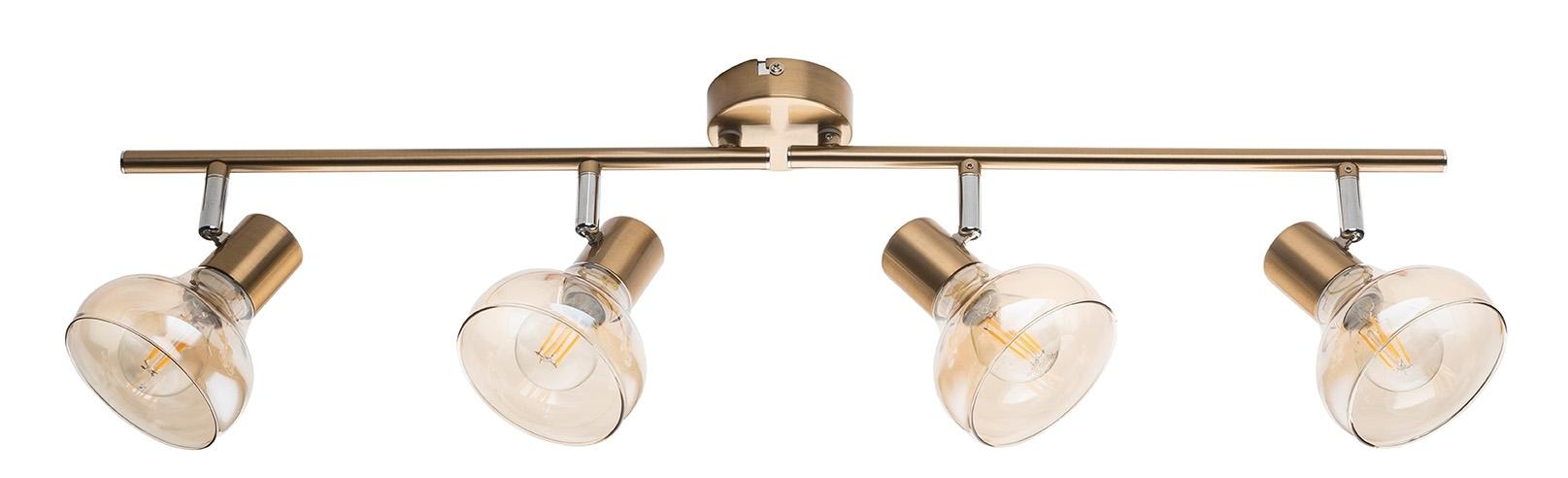 Globo DONTO Strahler Metall Goldfarben, 54922-4 | Lampen > Strahler und Systeme > Strahler und Spots | Goldfarben | Metall