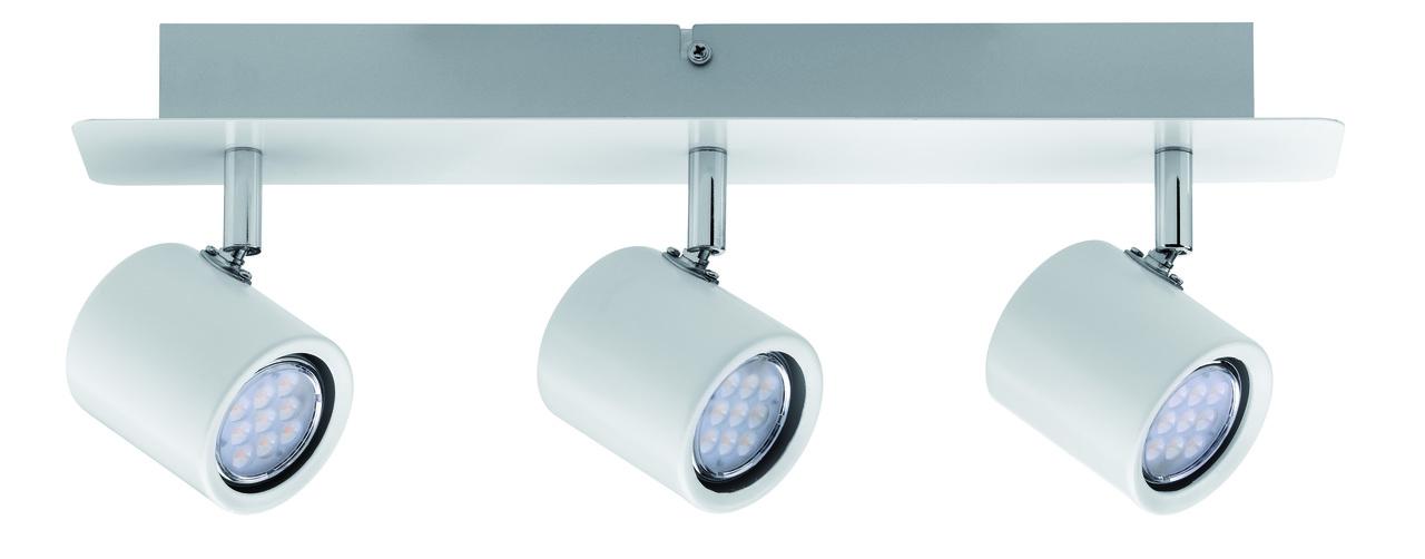 Paulmann LED Strahlerbalken Plain, Weiß, Metall, 603.89