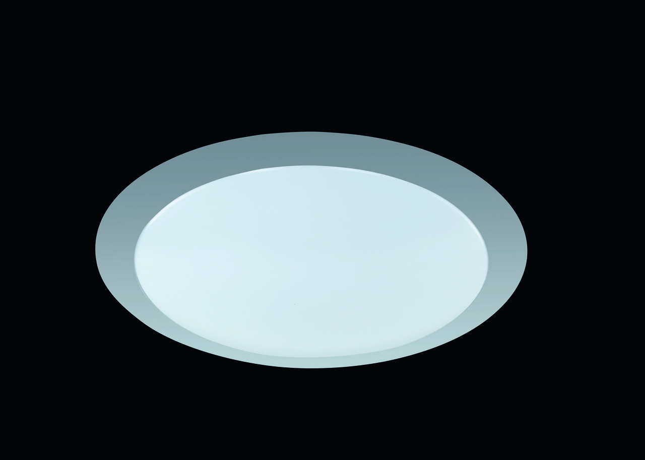Trio LED Deckenleuchte Kunststoff, Weiß, Kunststoff/Metall, 626511287