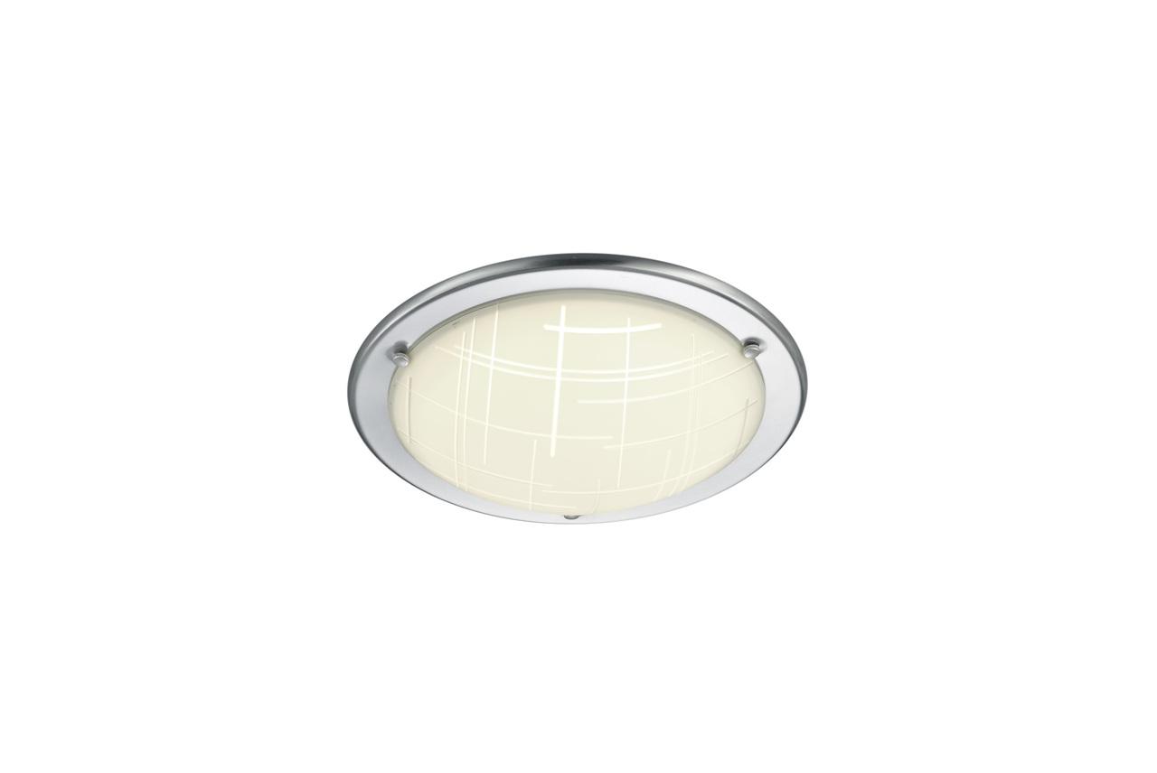 Trio LED Deckenleuchte Stalypso, Metallisch,weiß, Metall, 677410907