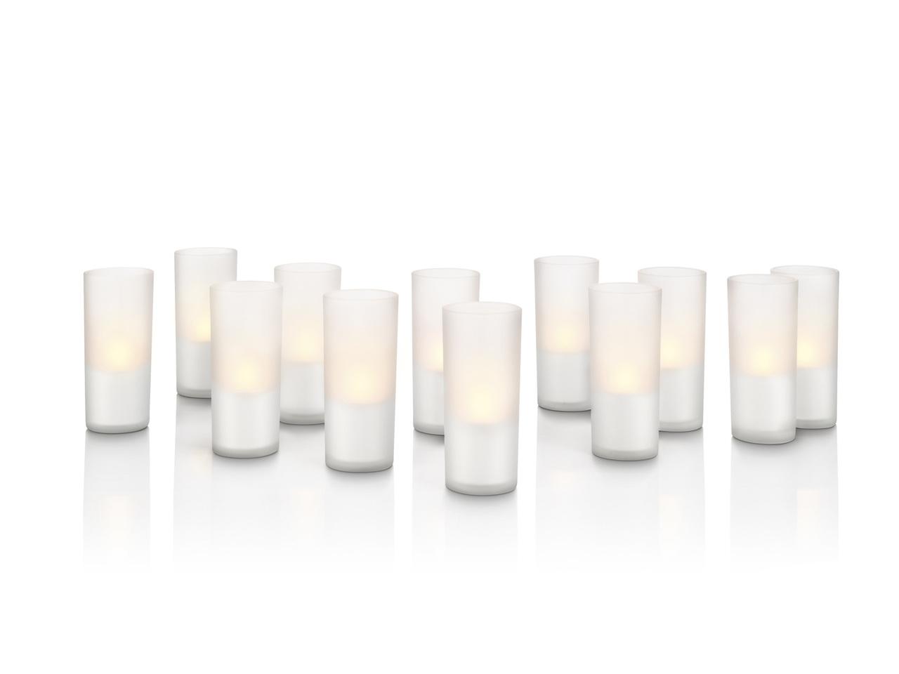 Philips LED Außen Dekoleuchte Candlelights, Wei...