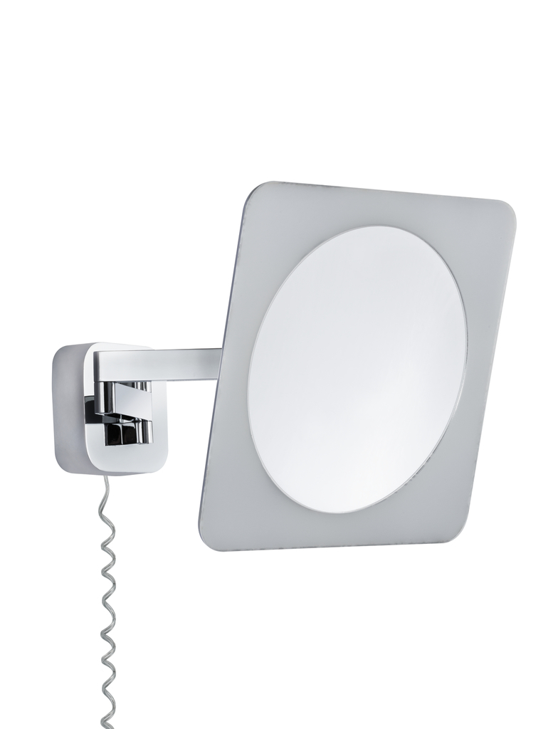 Paulmann LED Leuchtspiegel Bela, Chrom, Kunststoff/Metall, 704.68