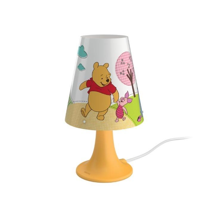 Philips LED Kinder Nachttischlampe Winnie Pooh, Bunt,orange,weiß, Kunststoff, 717953416 | Lampen