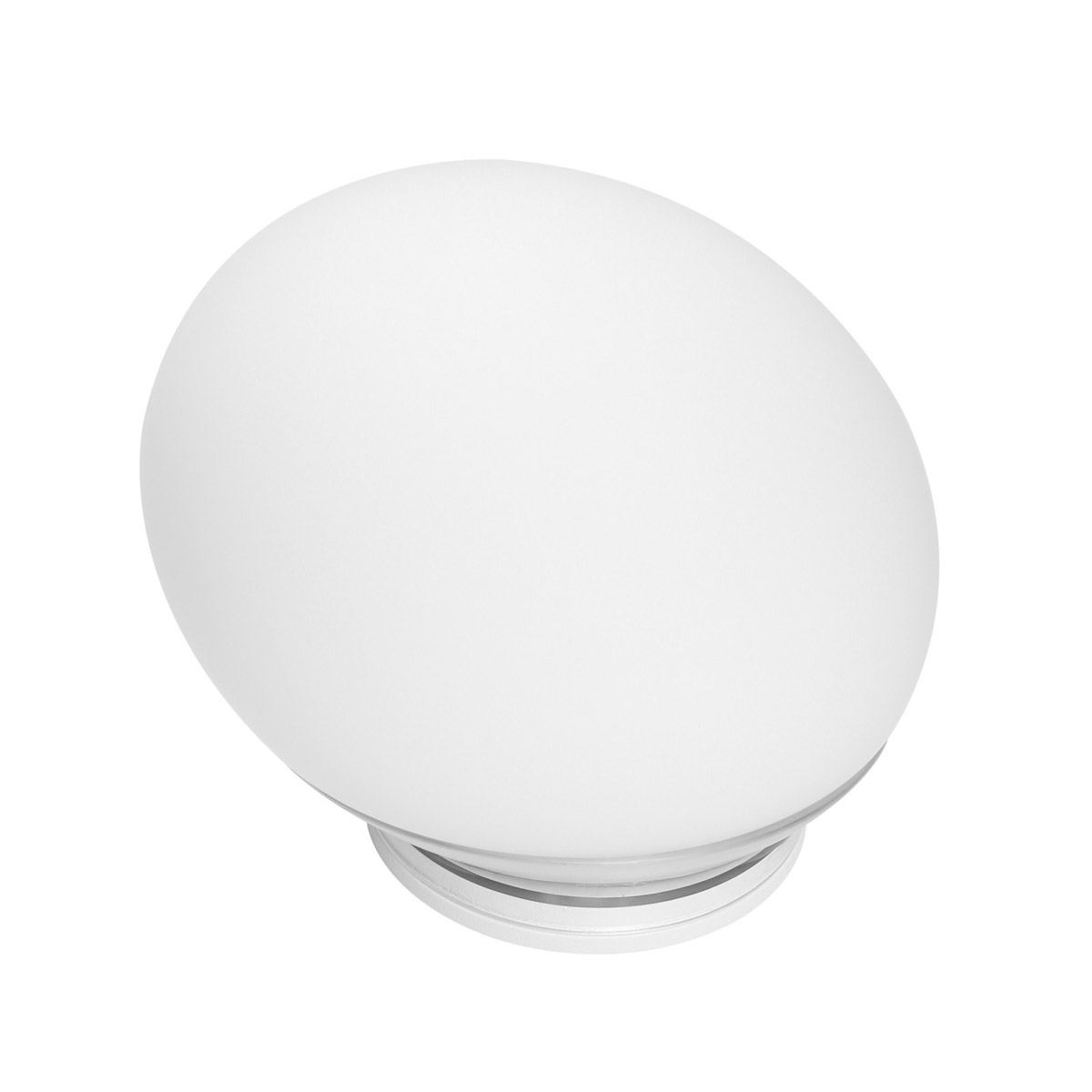 Linea Light LED Leseleuchte Goccia Lum LED 4W V Soff B Co, Weiß, Glas, 7243 | Lampen > Tischleuchten > Leseleuchten | Weiß | Glas