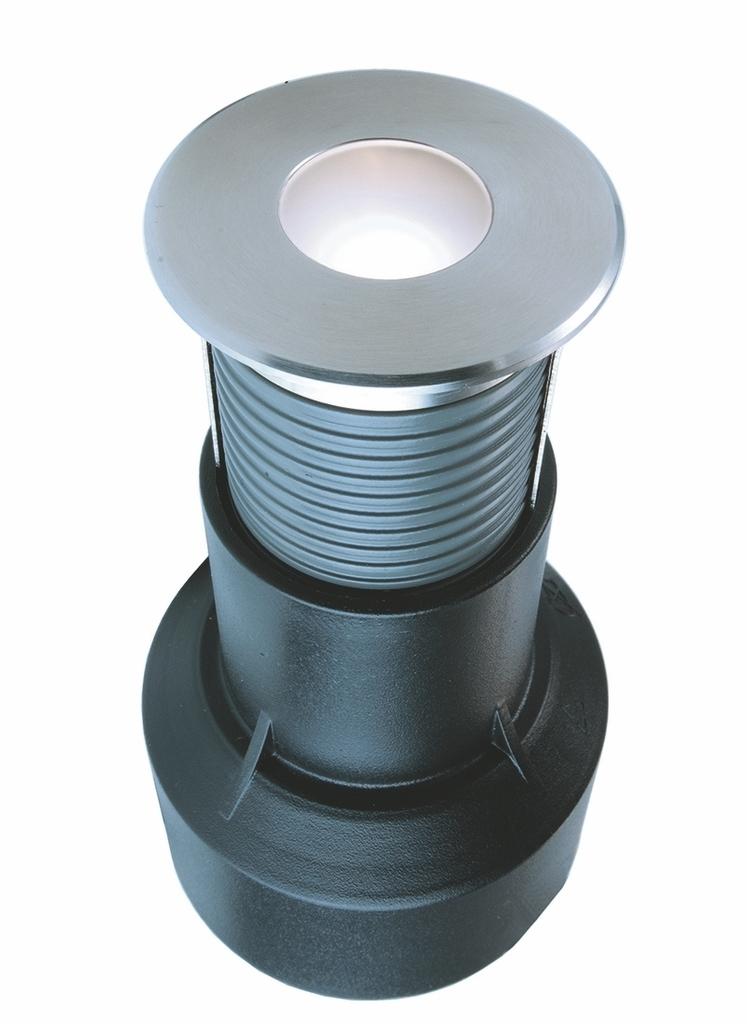 Deko-Light LED Bodeneinbaustrahler LED, Metallisch, Edelstahl/Glas, 730339