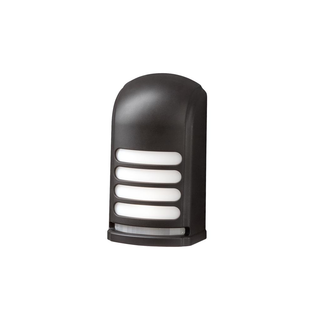 Konstsmide LED Außenwandleuchte Prato Batterie Höhe 13cm, Schwa bei LeuchtenZentrale.de
