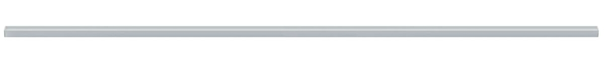 Paulmann Lichtleiste Function Square Profil Diffusor 100 Cm Alu Eloxiert Satin, Metallisch, Aluminium/Kunststoff, 708.09