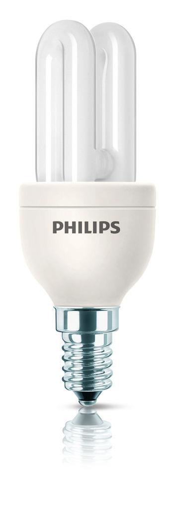 Philips Energiesparlampe Genie, Weiß, 80114210