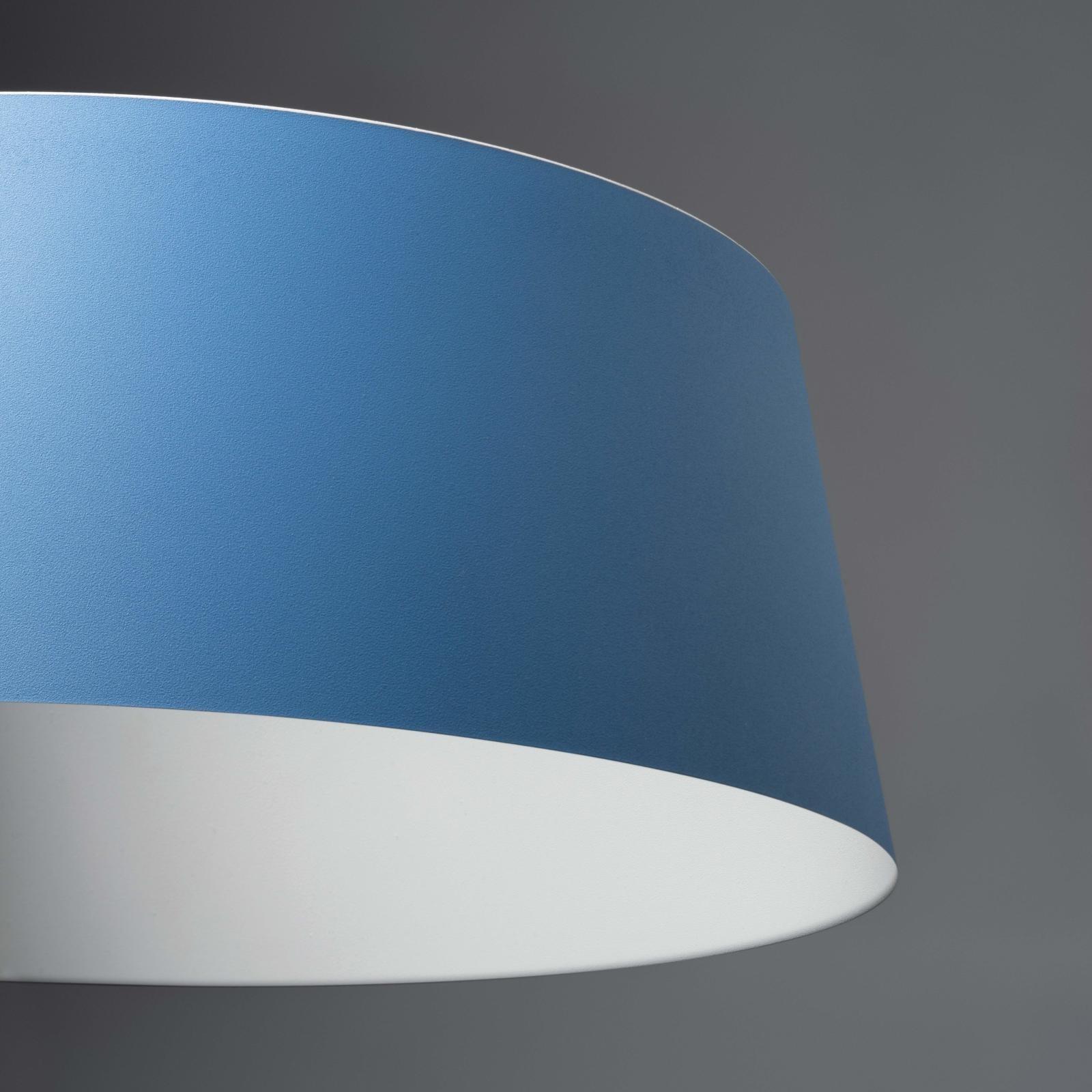 Linea Light LED Leseleuchte Oxygen_Fl1, Blau, Kunststoff, 8104   Lampen > Tischleuchten > Leseleuchten   Blau   Kunststoff
