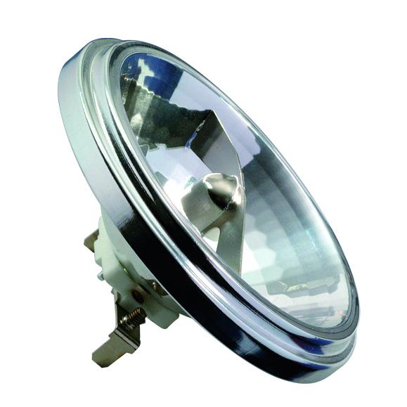 Paulmann NV Halogen Reflektor AR111 24° 50W G53 12V 111mm Silber, 832.61