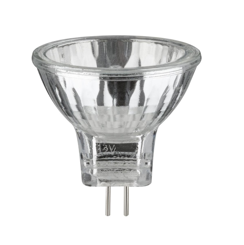 Paulmann Halogen Reflektor Security 3x20W GU4 12V 35mm Silber, 833.82