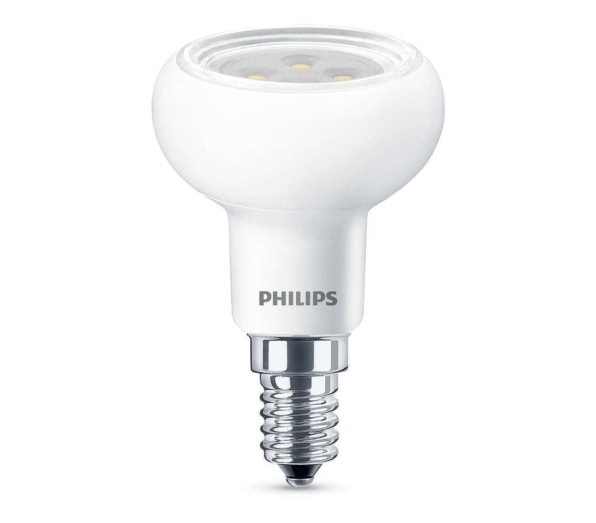 Philips LED 60W E14 WW 230V R50 36D DIM 1BC/4, 929001236001