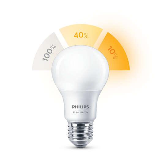 Philips LED SceneSwitch E27 (A60S+) (ersetzt 60...