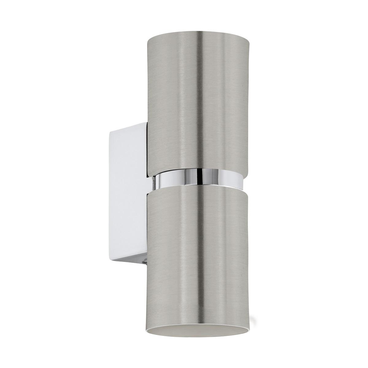 EGLO LED Downlight WL-2 GU10 Ø60 NICKEL-M-CHROM PASSA, Chrom/metallisch, Stahl, 96261