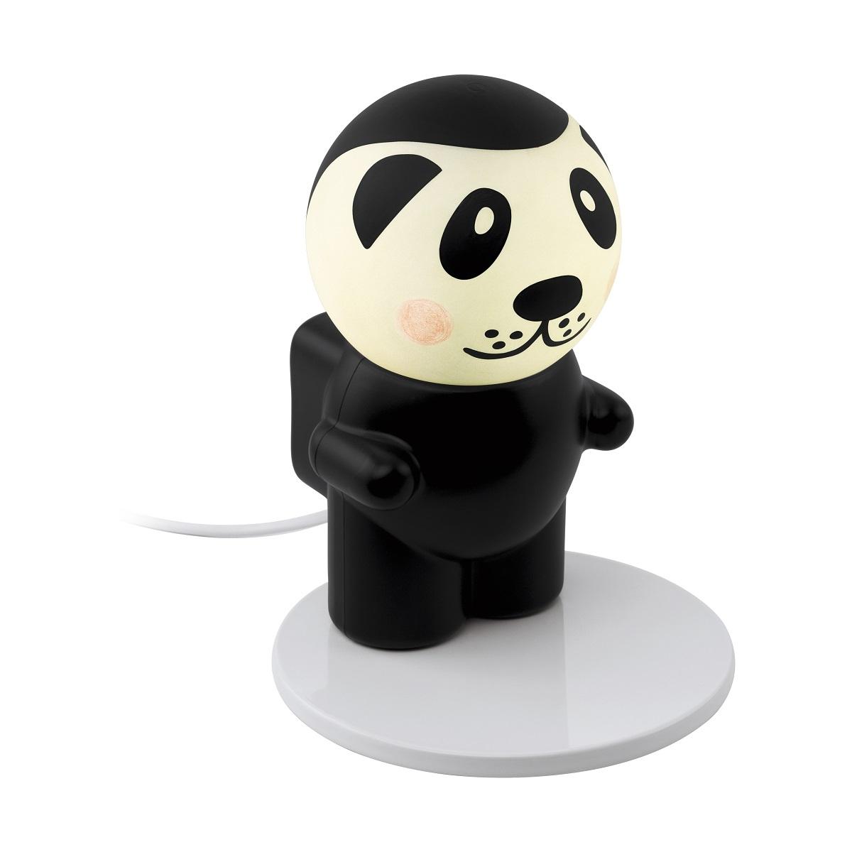 EGLO LED Kinder Dekorationslampe Fu Pan, Schwarz/weiß, Kunststoff/Stahl, 96867 | Kinderzimmer > Kinderzimmerdekoration