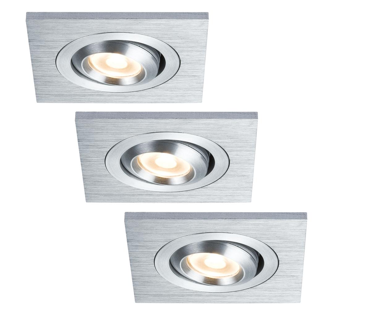 Paulmann LED Einbauleuchte Premium Line Drilled...