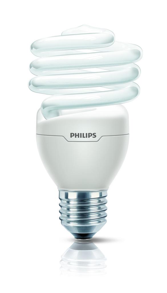 Philips Energiesparlampe Tornado, Weiß, 92600200