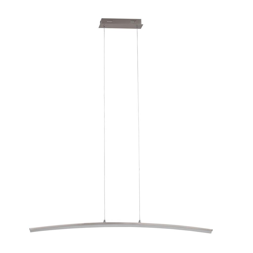 Brilliant LED Pendelleuchte Curved LED 21, Kunststoff/Metall, G93504/13
