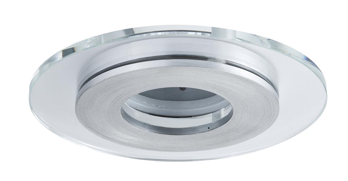 Paulmann Deckenleuchte CombiSystems Deco EBL Single Shell Max.50W Alu Geb./Glas, Metallisch,transparent, 937.18