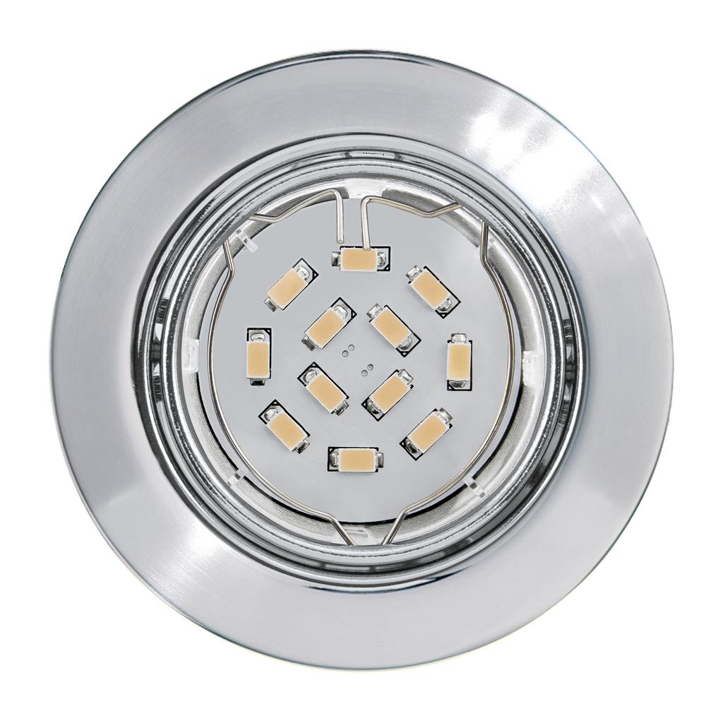 EGLO LED Deckenleuchte Peneto, Metallisch, Metall, 94241