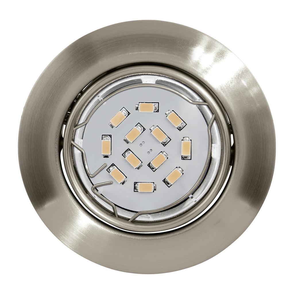 EGLO LED Deckenleuchte Peneto, Metallisch, Metall, 94242