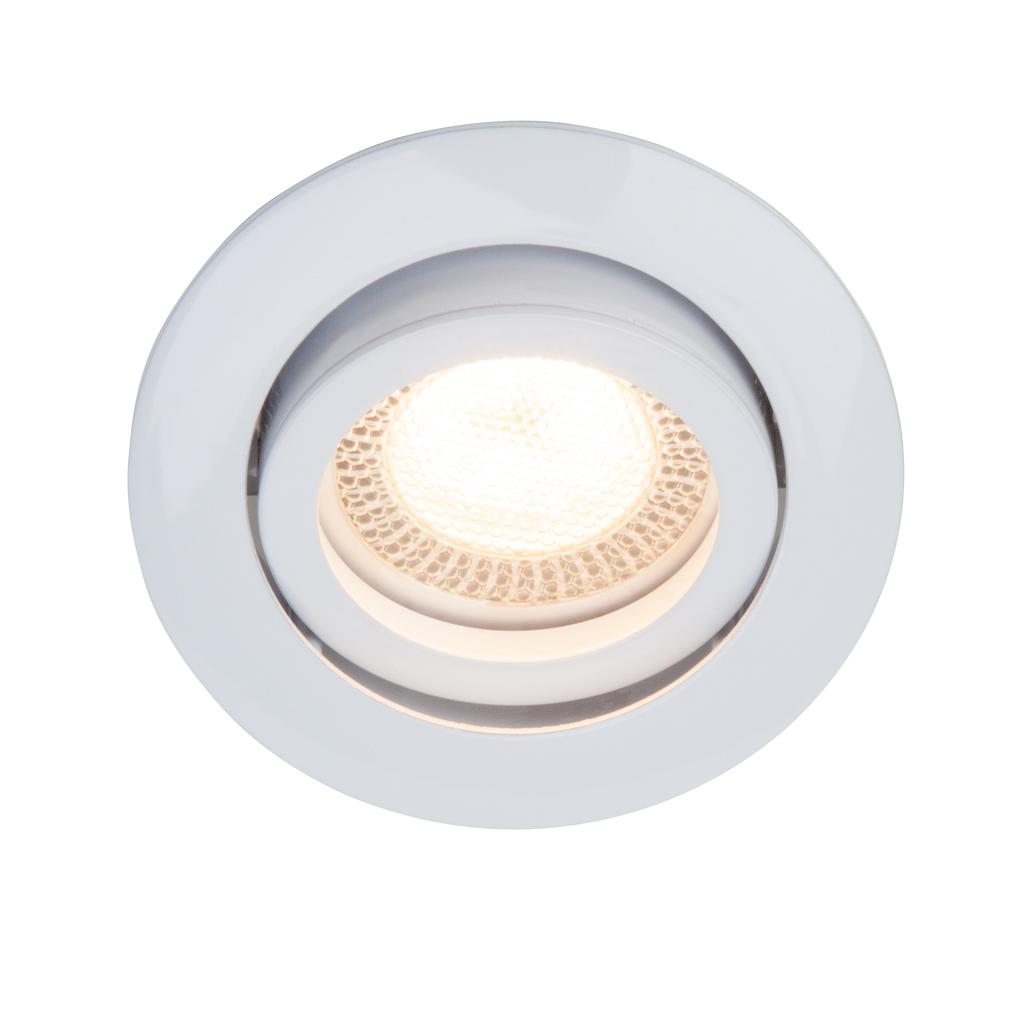 Brilliant LED Deckenleuchte Easy Clip LED 5W EBL-SCHWENKB, Weiß, Metall, G94649/05