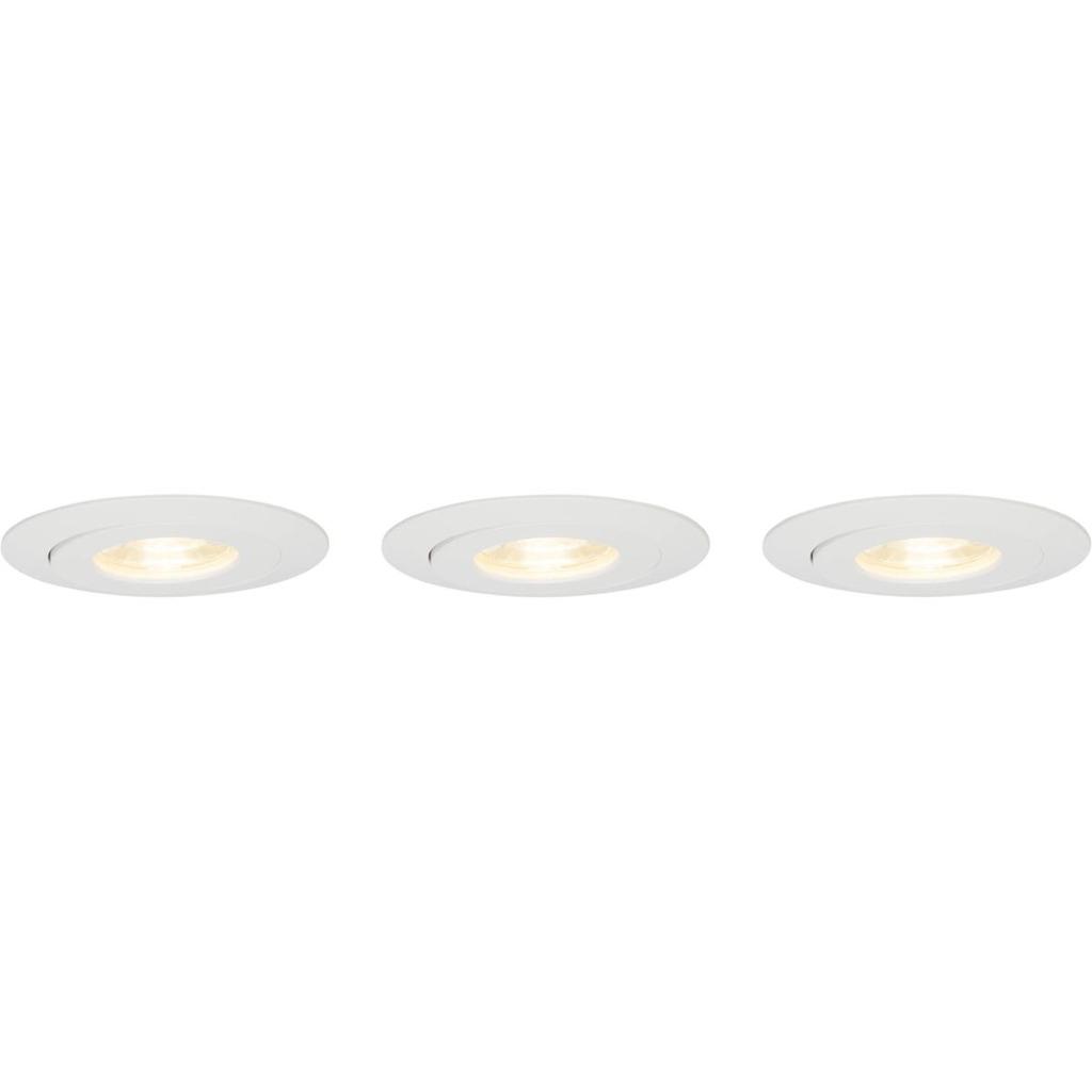 Brilliant LED Deckenleuchte Nodus LED 4W EBL-3-SCHWENKB 3000K, Kunststoff, G94682/05
