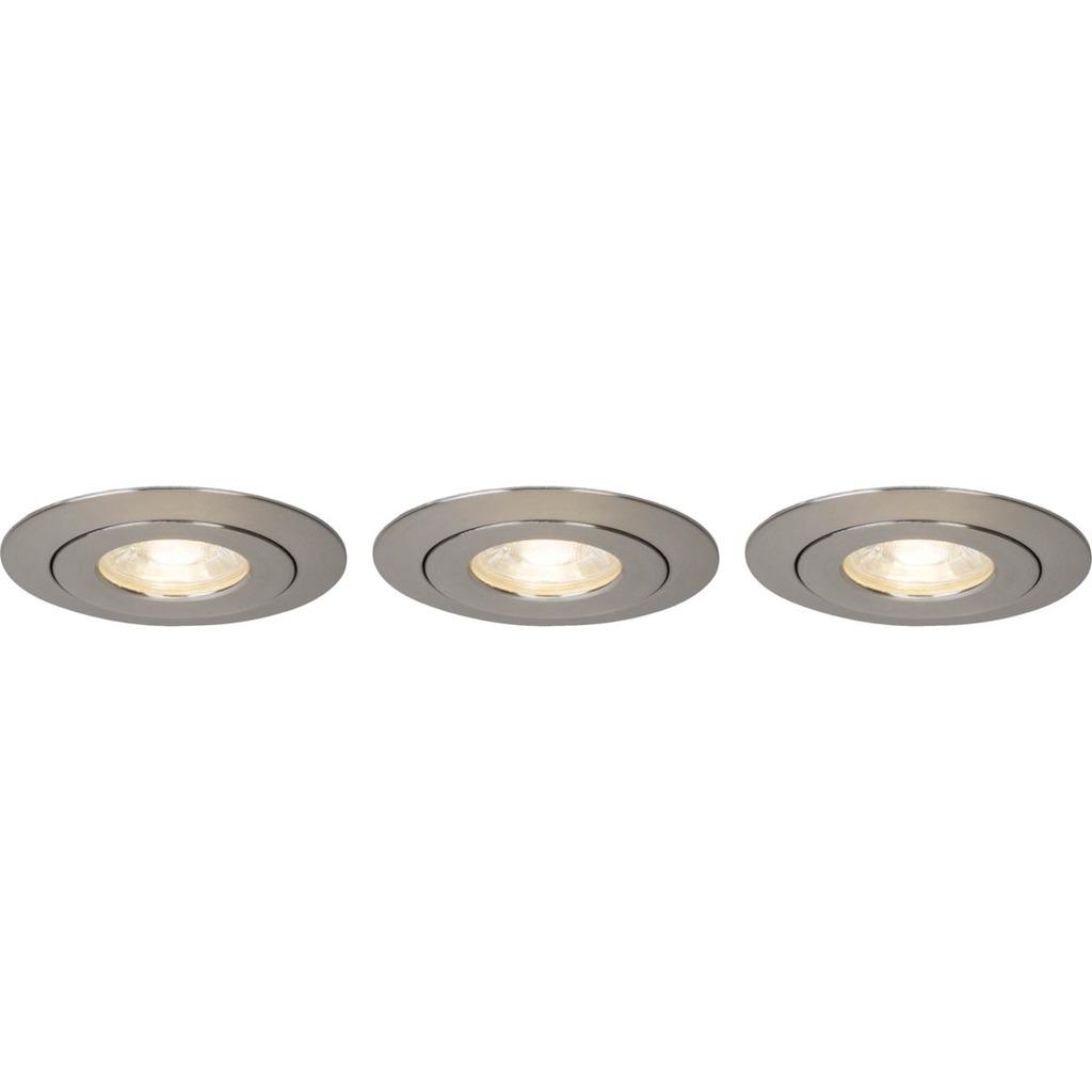Brilliant LED Deckenleuchte Nodus LED 4W EBL-3-SCHWENKB 3000K, Kunststoff, G94682/13