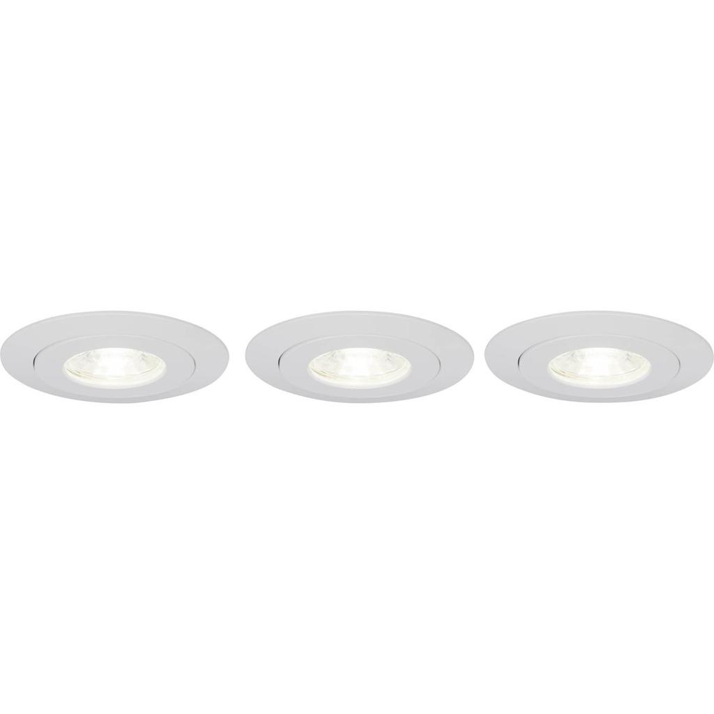 Brilliant LED Einbaustrahler Nodus LED 4W EBL-3-SCHWENKB 4000K, Kunststoff, G94683/05