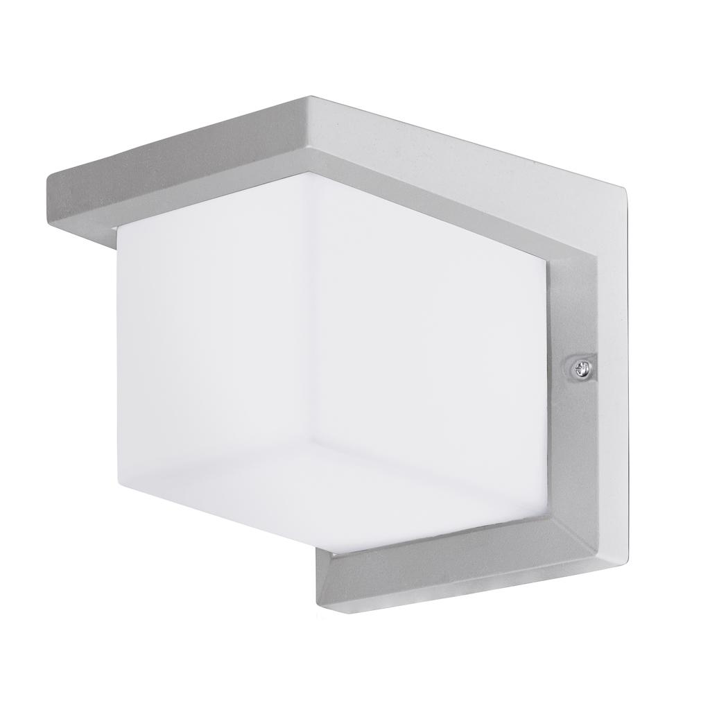 EGLO LED Außenwandleuchte Desella 1, Silber,weiß, 95096 bei LeuchtenZentrale.de