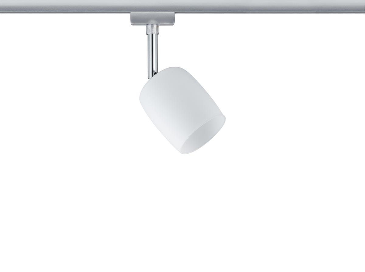 Paulmann Stromschienensystem URail Spot Blossom, Chrom, Glas/Metall, 953.37 | Lampen > Strahler und Systeme > Schienensysteme | Chrom