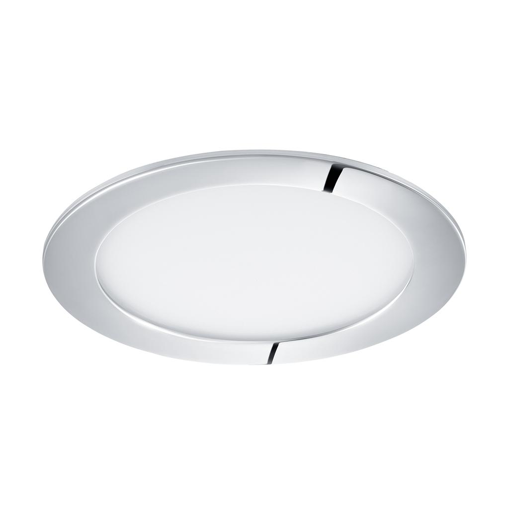 EGLO LED Deckenleuchte Fueva 1, Chrom, Kunststoff/Metall, 96055   Lampen > Deckenleuchten   Chrom