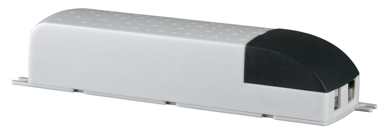 Paulmann Ersatzteil VDE Mipro Elektroniktrafo Max.20-80W 230V 80VA Weiß, Weiß, 977.54