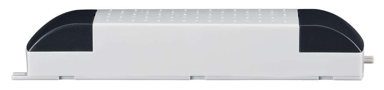 Paulmann Ersatzteil VDE Profi Elektroniktrafo Max.20-80W 230V 80VA Weiß, Weiß, 977.71