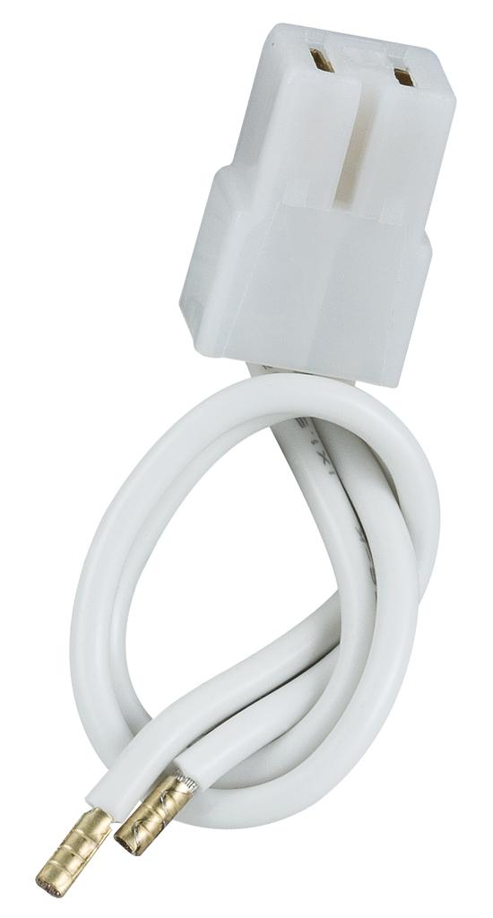 Paulmann Kabel Rail Adapter Für Trafo Mit Klemmanschluss Max.150W, Weiß, 979.85