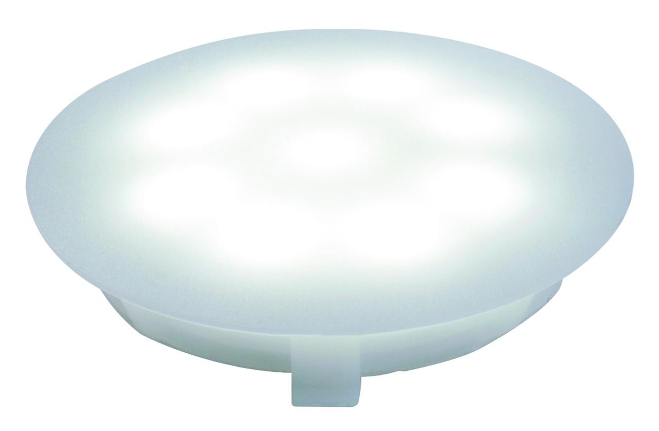 Paulmann LED Bodeneinbauleuchte Special Line UpDownlight, Weiß, Kunststoff, 987.56