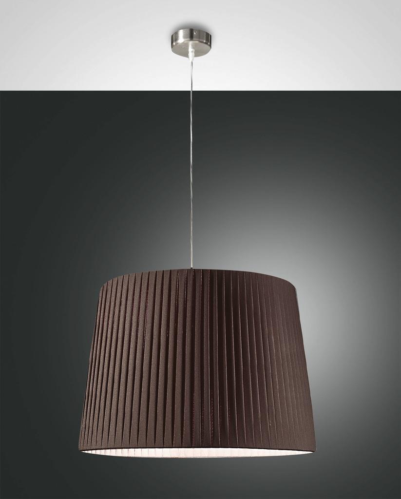 fabas-luce-pendelleuchte-dorotea-braun-2960-45-274, 204.00 EUR @ leuchtenzentrale-de
