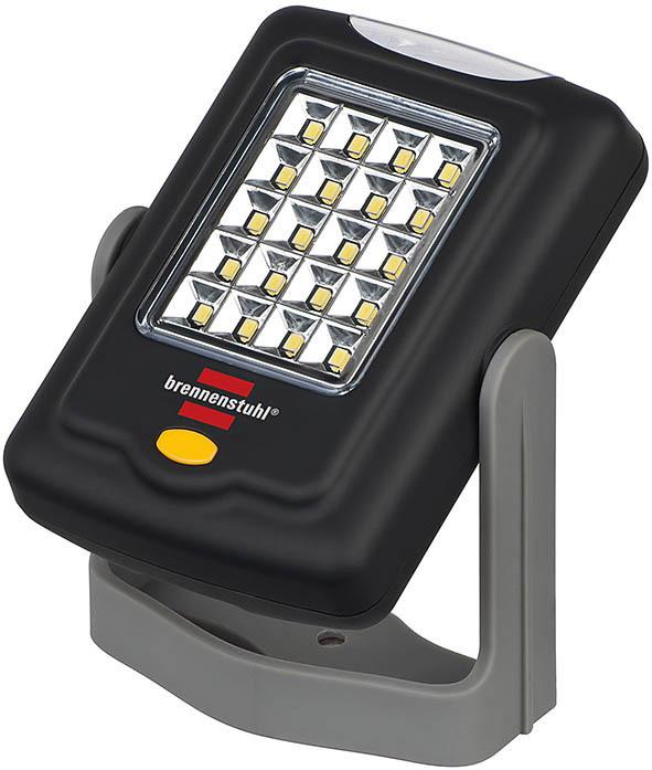 Brennenstuhl LED Außen Dekoleuchte 20+3 SMD LED Universalleuchte HL DB 203 MH Im Einzelkarton 20LED=>105lm + 3LED=>18lm 6000K 3xAAA (enthalten) 6h, Grau,schwarz, 1175420