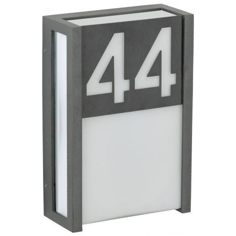 Hausnummer / Zubehör, Anthrazit