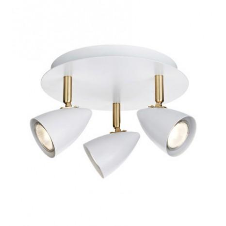 CIRO Ceiling 3L White/Brass