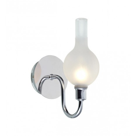 LIBERTY Wall 1L Chrome/Frosted IP44