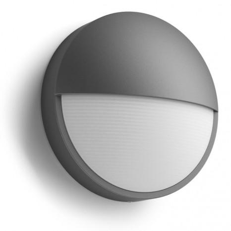 Capricorn, LED, IP44, Höhe 7,8 cm, anthrazit