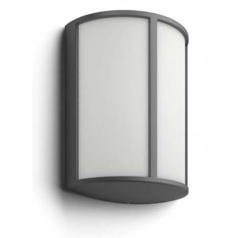 Stock, LED, IP44, Höhe 24,6 cm anthrazit