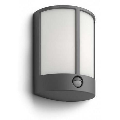 Stock, LED, IP44, Höhe 24,6 cm, mit Bewegungsmelder, anthrazit