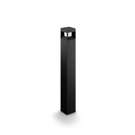 Parterre, LED, Höhe 77 cm, schwarz