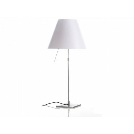 Costanza Table Off White (ohne Schirm), 76-110 cm, Schalter