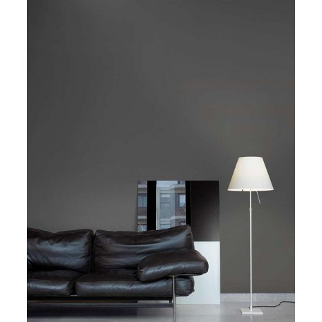 Costanza Floor Off White (ohne Schirm), 120-160 cm, Sensordimmer
