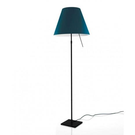 Costanza Floor Schwarz (ohne Schirm), 120-160 cm, Sensordimmer