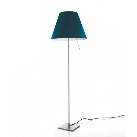 Costanza Floor, Höhe 120 - 160 cm, Sensordimmer, Aluminium, Ohne Schirm